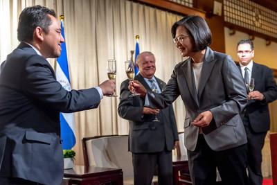 蔡英文出席中美洲3友邦酒會:台灣有能力讓世界更好
