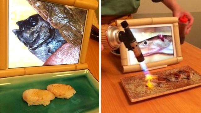 魚肉好吃嗎?生魚片前擺放「魚遺體照」 日老闆叮嚀顧客:要珍惜食物哦