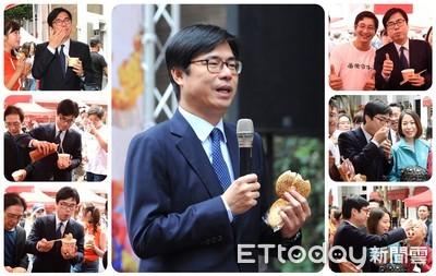 陳其邁「最快樂的一天」:我願意當台灣小吃夜市的代言人!