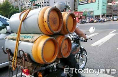 國際液化石油氣上漲中油吸收 十月家用桶裝瓦斯凍漲