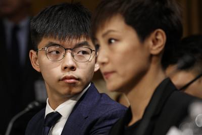黃之鋒:香港人權法案有望今年通過