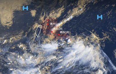 就在家門口!颱風「塔巴」可能生成