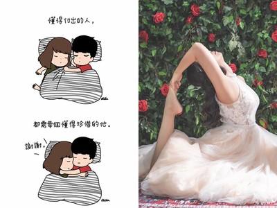 Aida&綺綺首曝「真人婚紗照」有夠美!