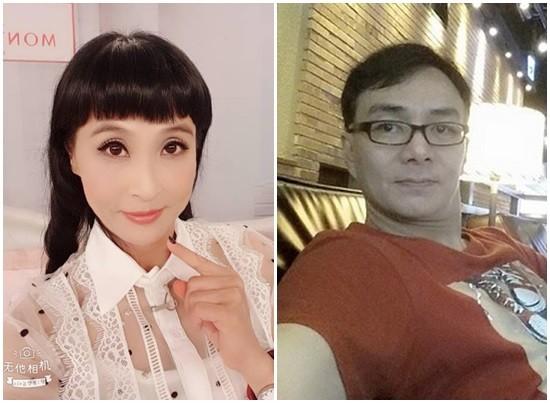 ▲馬妞和馮光榮曾有一段婚姻。(圖/翻攝自馬妞、馮光榮臉書)