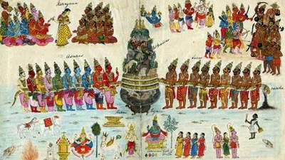 宇宙中心是一片「白濁乳汁海洋」!印度眾神打爆頭 要喝裡頭那滴不死甘露