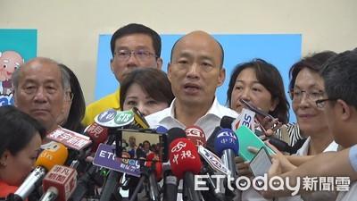 韓國瑜不想被卡:訪美不動用外交部資源