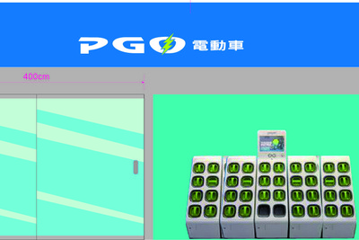 PGO的Gogoro電動機車年底上市