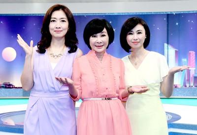三年不見吳淡如復出了 合體鄧惠文、賴芳玉擠進八點檔開節目