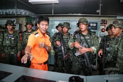 特5營行軍訓練強化作戰思維