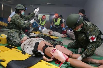 軍醫局展現國軍緊急救護專業能量