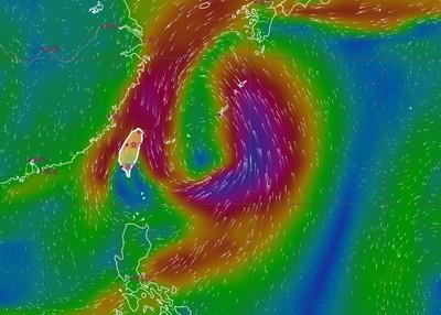 塔巴最快今生成!周五六最靠近「北東雨勢明顯」