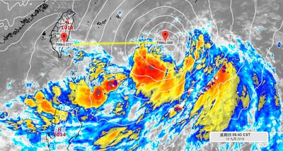塔巴可能生成 彭啟明:若轉彎離台灣近一點影響範圍大