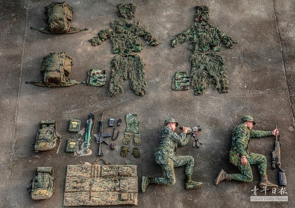 ▲▼陸軍8軍團狙擊隊的開箱文。(圖/翻攝自青年日報臉書粉專)