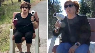 「拿吹風機當測速槍」嚇壞飆車屁孩!正義大媽成功阻止車禍 警察上門致謝