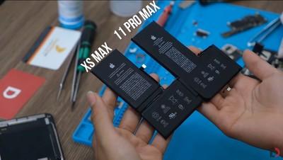 iPhone 11 Pro Max實機首拆!電池容量較前代大增25%