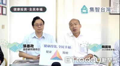 韓國瑜提長照保險 質疑蔡政府「抽菸救長照」