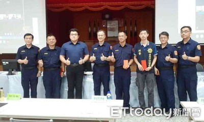 台南善化警友辦事處頒破案獎金