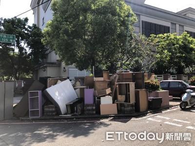 搬家公司收錢清廢棄家具竟亂丟