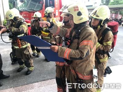 安南醫院加護病房夜間消防搶救演練