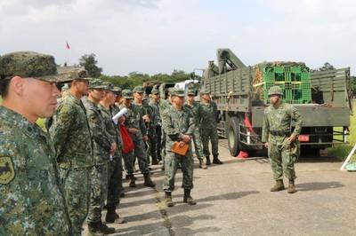 三支部後勤機動裝載強化作戰支援