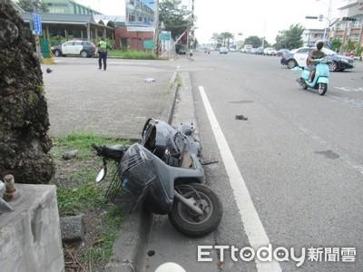 救護車闖燈撞死騎士 事故原因調查中