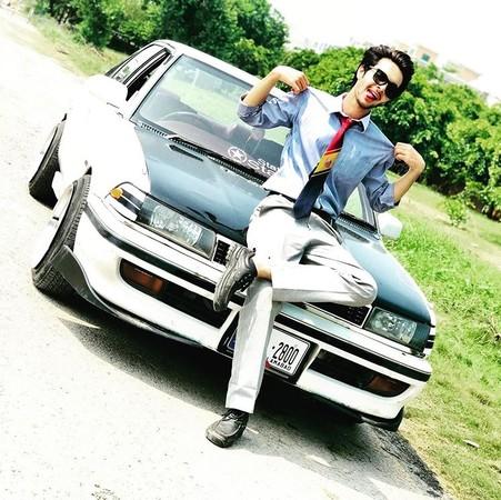 ▲巴基斯坦網紅丹尼爾汗(Daniyal Khan)車禍身亡。(圖/翻攝自丹尼爾汗Instagram)