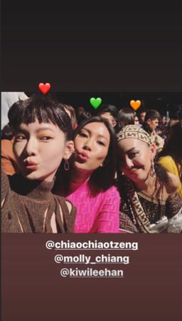 ▲▼曾之喬。(圖/翻攝自Instagram/chiaochiaotzeng)