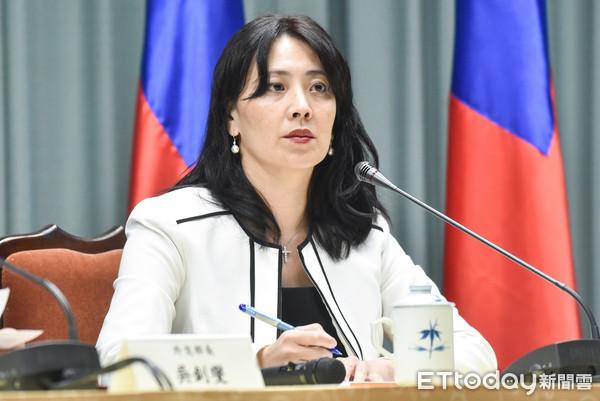 ▲外交部發言人歐江安。(圖/記者李毓康攝)
