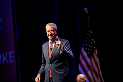 紐約市長白思豪:退出總統競選