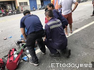 快訊/5歲男童遭重機撞擊!插管治療中