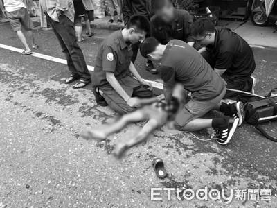 7歲童被重機撞飛慘死!父悲痛276字惹哭網
