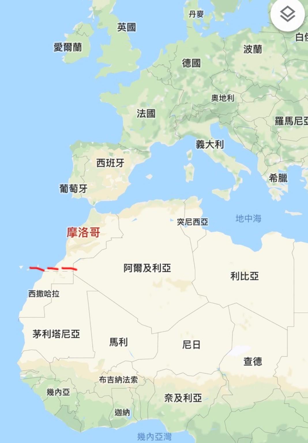 ▲▼摩洛哥。(圖/翻攝自Google Maps)