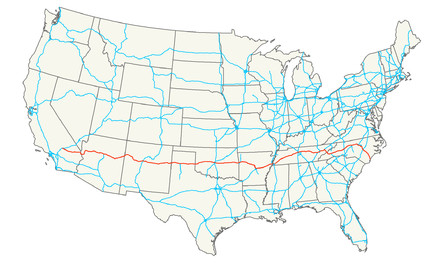 ▲40號州際公路。(圖/翻攝至Wikipedia)
