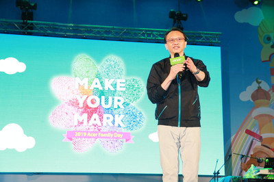 宏碁家庭日7000人參與 陳俊聖勉勵「再繼續打拚」