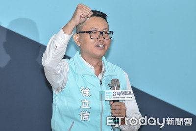 民眾黨推8區域立委 徐立信接受徵召