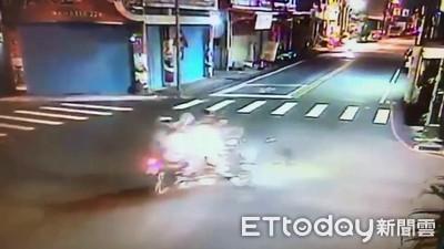 花蓮無照少年闖紅燈 騎士遭撞亡