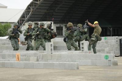 特戰部隊反特攻模擬基地遭滲透