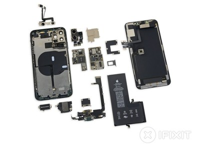 iPhone 11 Pro Max 完整拆解大公開!