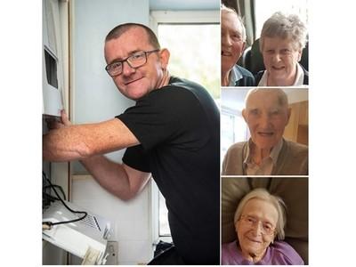 替91歲嬤修熱水器 超暖水電工拒收費