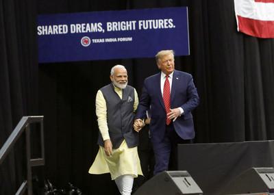 印度總理大讚川普「真正的朋友」