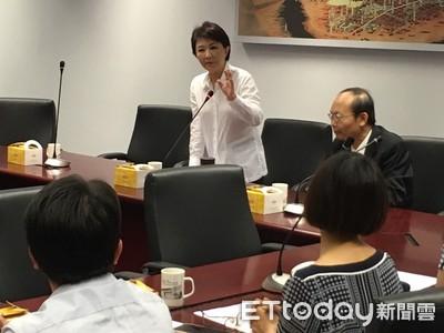 接見全國科展冠軍學生 盧秀燕自爆國中得過亞軍