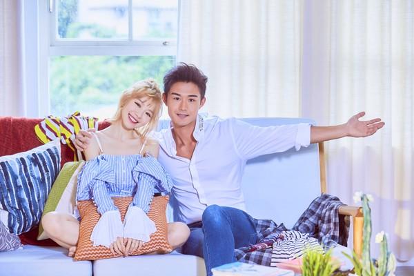 ▲林明禎在新歌MV和日本健美鮮肉有不少親密戲。(圖/種子音樂提供)