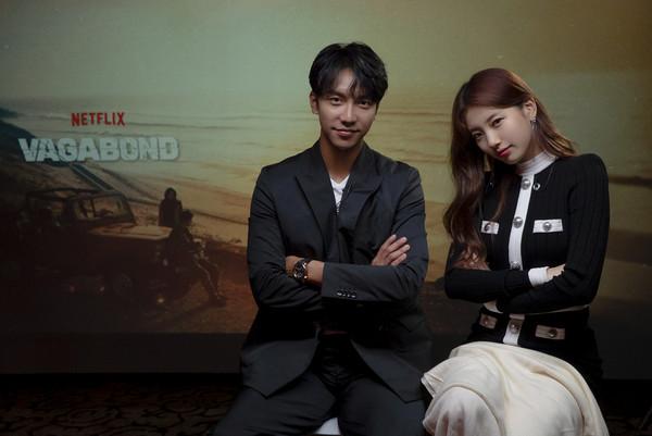 ▲▼李昇基與秀智合作韓劇《浪行驚爆點》收視開出紅盤。(圖/Netflix提供)