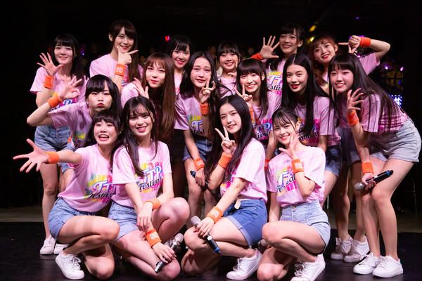 ▲ AKB48 Team TP開唱感動到紛紛淚灑舞台。(圖/好言娛樂提供)