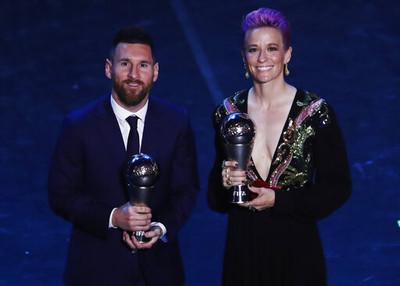 梅西6度獲世界足球先生 C羅發文