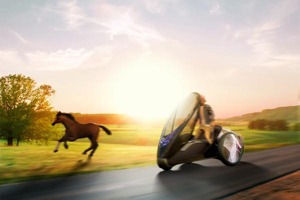 靠駕駛身體操控!「豐田FV2」未來汽車還能隨心變色