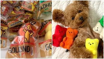 包裝超仿真!韓國「布偶小熊軟糖」萌炸天 毛小孩看到就狂流口水