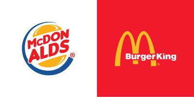 麥當勞和對頭漢堡王「互換LOGO」 顛覆混搭結果無違和!