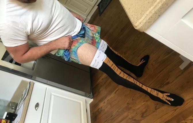 ▲▼雞腳襪。(圖/翻攝自Amazon)
