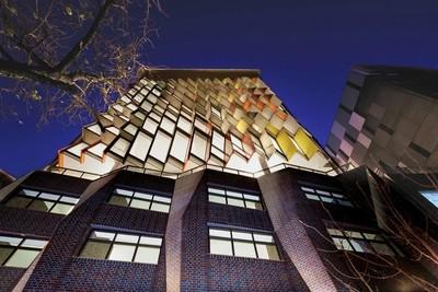 雪梨彩色馬賽克公寓大樓成打卡地標